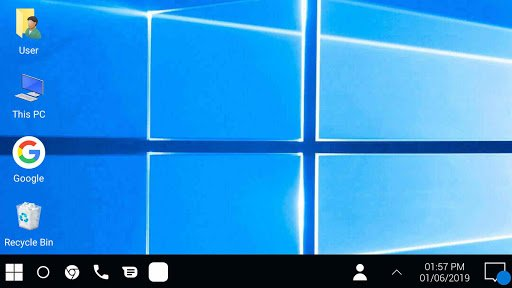 Windows 10 in android phone