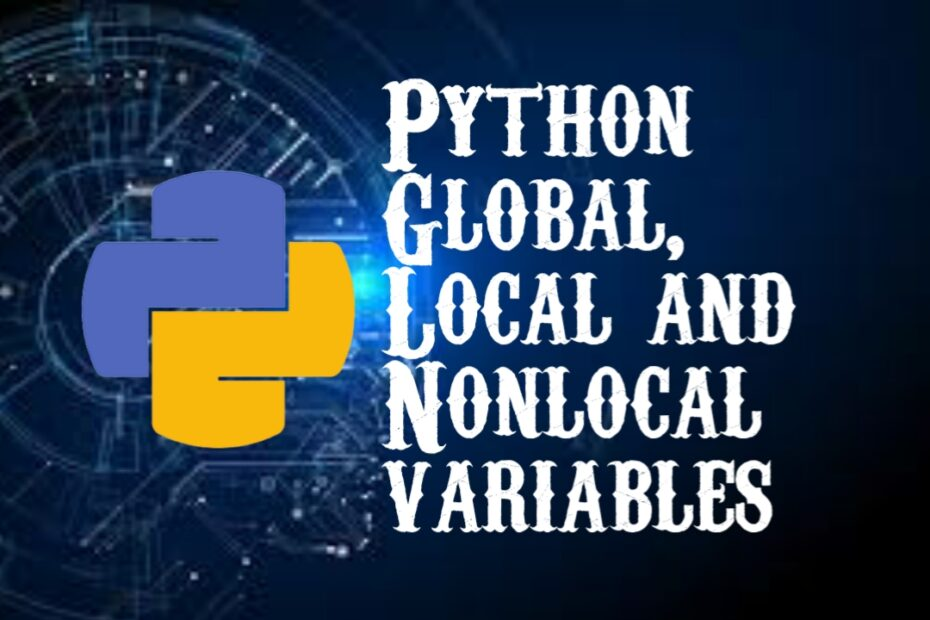 Python Local and global variables